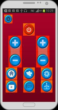 Air conditioner remote control screenshot 2