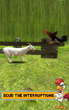 Farm Rooster Run: Endless run game apk screenshot
