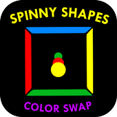 Spinny Shapes Color Swap - 2D icon