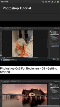 Easy Photoshop Tutorials screenshot 2