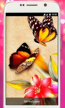 Butterfly Live Wallpaper 2018 free screenshot 4