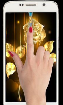 Golden Rose Zipper Lockcreen 2018: Golden Rose zip poster