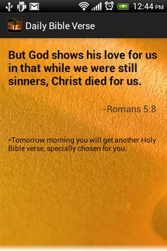 Daily Bible Verses Free poster