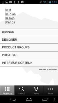 Best Belgian Design Brands poster