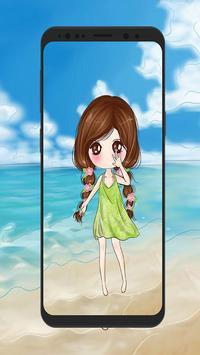 Cute Anime Girl Wallpapers 💖 screenshot 7