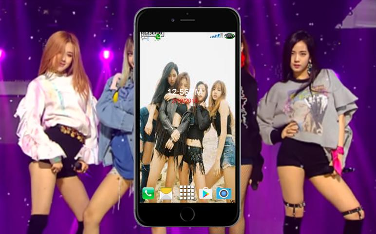 Black Pink Kpop Wallpaper Hd For Android Apk Download