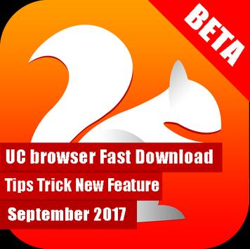Guide UC Browser Fast Download Beta Sept 2017 poster