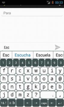 B16x2 Spanish Prediction screenshot 1
