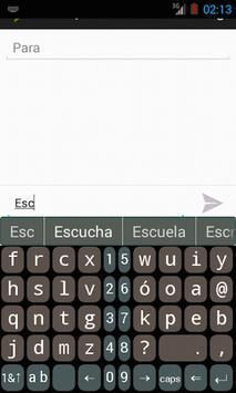 B16x2 Spanish Prediction screenshot 2