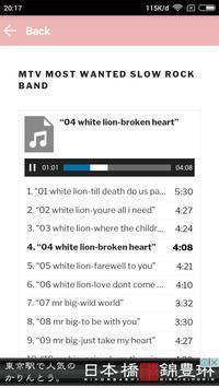 Best Compilation Slow Rock screenshot 2