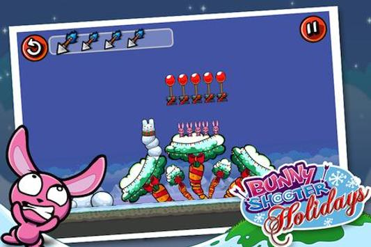 Bunny Shooter Christmas screenshot 4