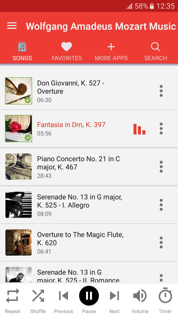Wolfgang Amadeus Mozart Music for Android - APK Download