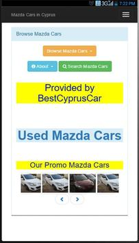 Used Mazda Cars in Cyprus poster