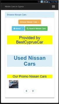Used Nissan Cars in Cyprus poster