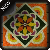 Latest Flower Rangoli Collections icon