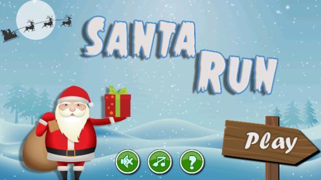 Santa Claus Run & Jump poster