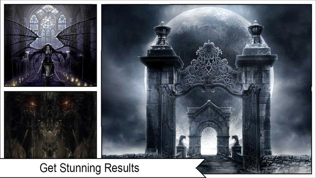 Dark Gothic Wallpapers apk screenshot