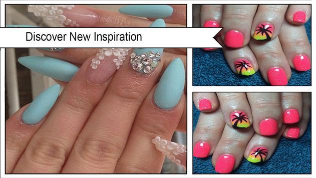 Simple Summer Nail Art Ideas screenshot 1