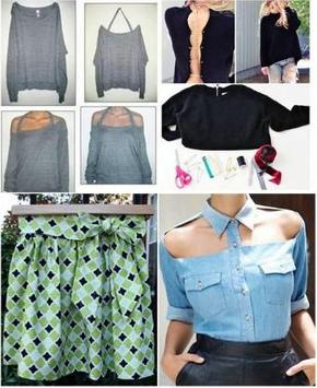 DIY Fashion Design Ideas poster