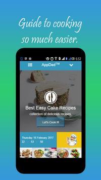 Best Easy Cake Recipes apk screenshot