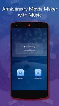 Anniversary Movie Maker With Music poster