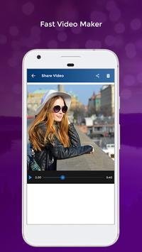 Fast Video Maker apk screenshot