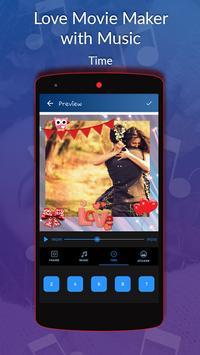 Love Movie Maker with Music screenshot 6