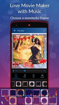 Love Movie Maker with Music screenshot 3