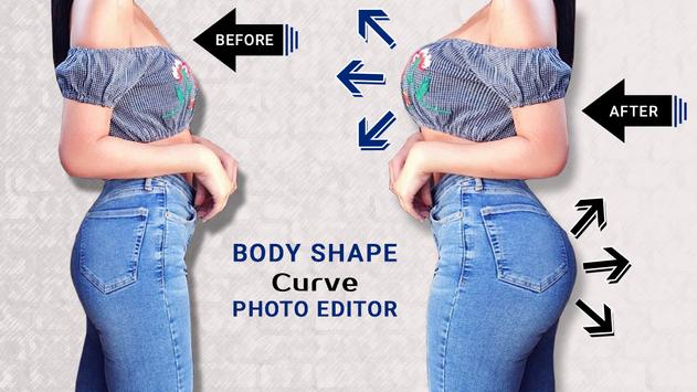 Body Shape Curve Photo Editor captura de pantalla 1