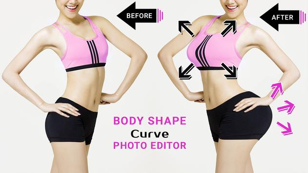 Body Shape Curve Photo Editor captura de pantalla 2