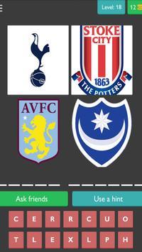 Football Soccer Quiz: New edition 2018 screenshot 2
