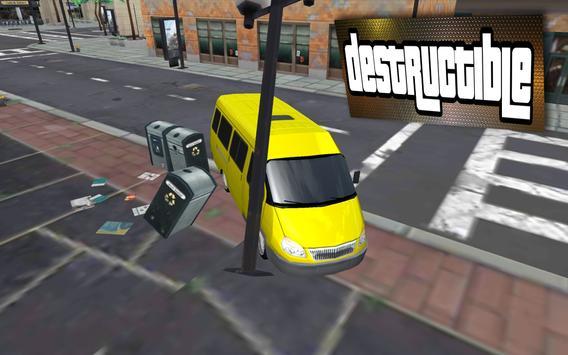 Russian Car Marshrutka Driving apk screenshot