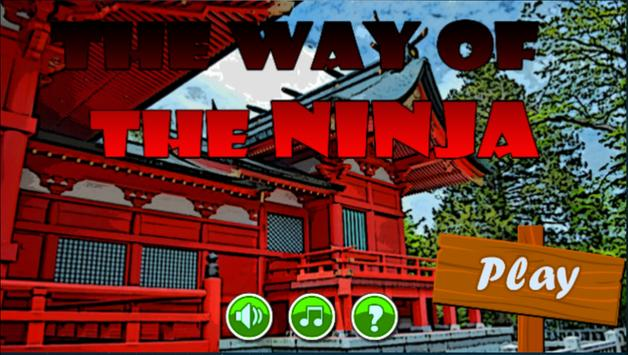 The Way Of The Ninja - Run 2 D poster
