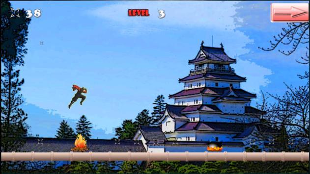 The Way Of The Ninja - Run 2 D apk screenshot