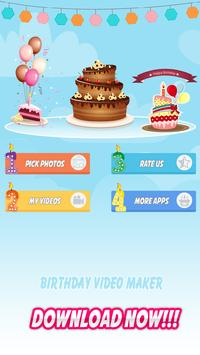 Birthday Video Maker apk screenshot