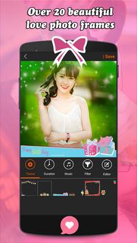 Love Video Maker With Song apk screenshot