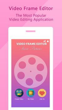 Video Editor Frame poster