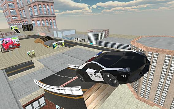 Police Car Stunt Simulation 3D screenshot 18