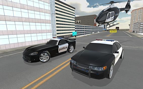 Police Car Stunt Simulation 3D screenshot 13