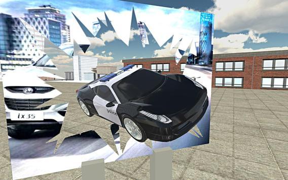 Police Car Stunt Simulation 3D screenshot 1
