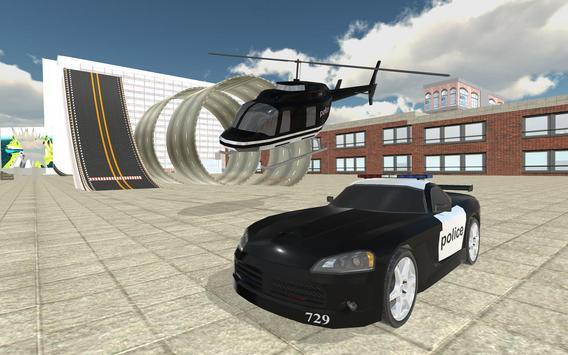 Police Car Stunt Simulation 3D screenshot 3