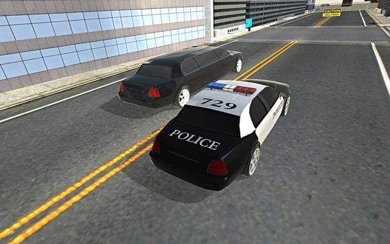 Police Car Stunt Simulation 3D screenshot 4