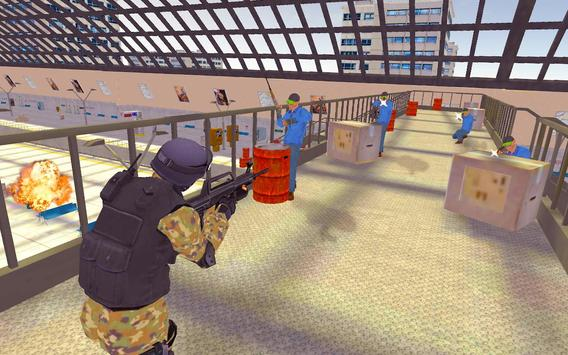Commando Mission Train Shoot apk screenshot