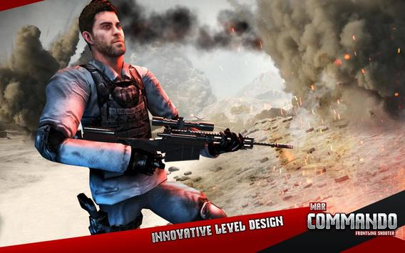 War Commando Frontline Shooter poster
