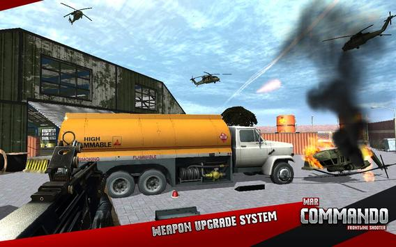 War Commando Frontline Shooter apk screenshot