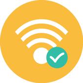 Icona La connessione Wi-Fi Connect & Share wifi hotspot