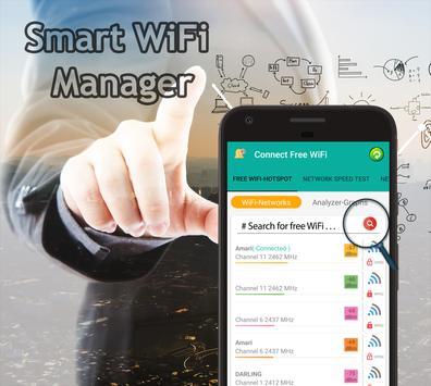 Poster La connessione Wi-Fi Connect & Share wifi hotspot