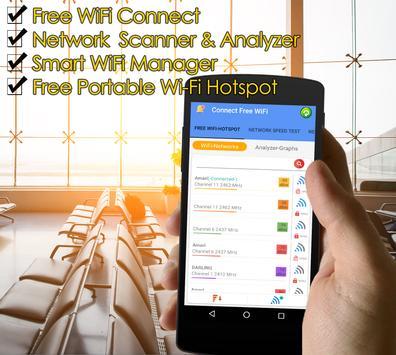 1 Schermata La connessione Wi-Fi Connect & Share wifi hotspot