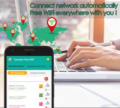 2 Schermata La connessione Wi-Fi Connect & Share wifi hotspot