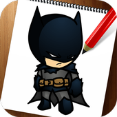 How to Draw Superheroes Chibi icon